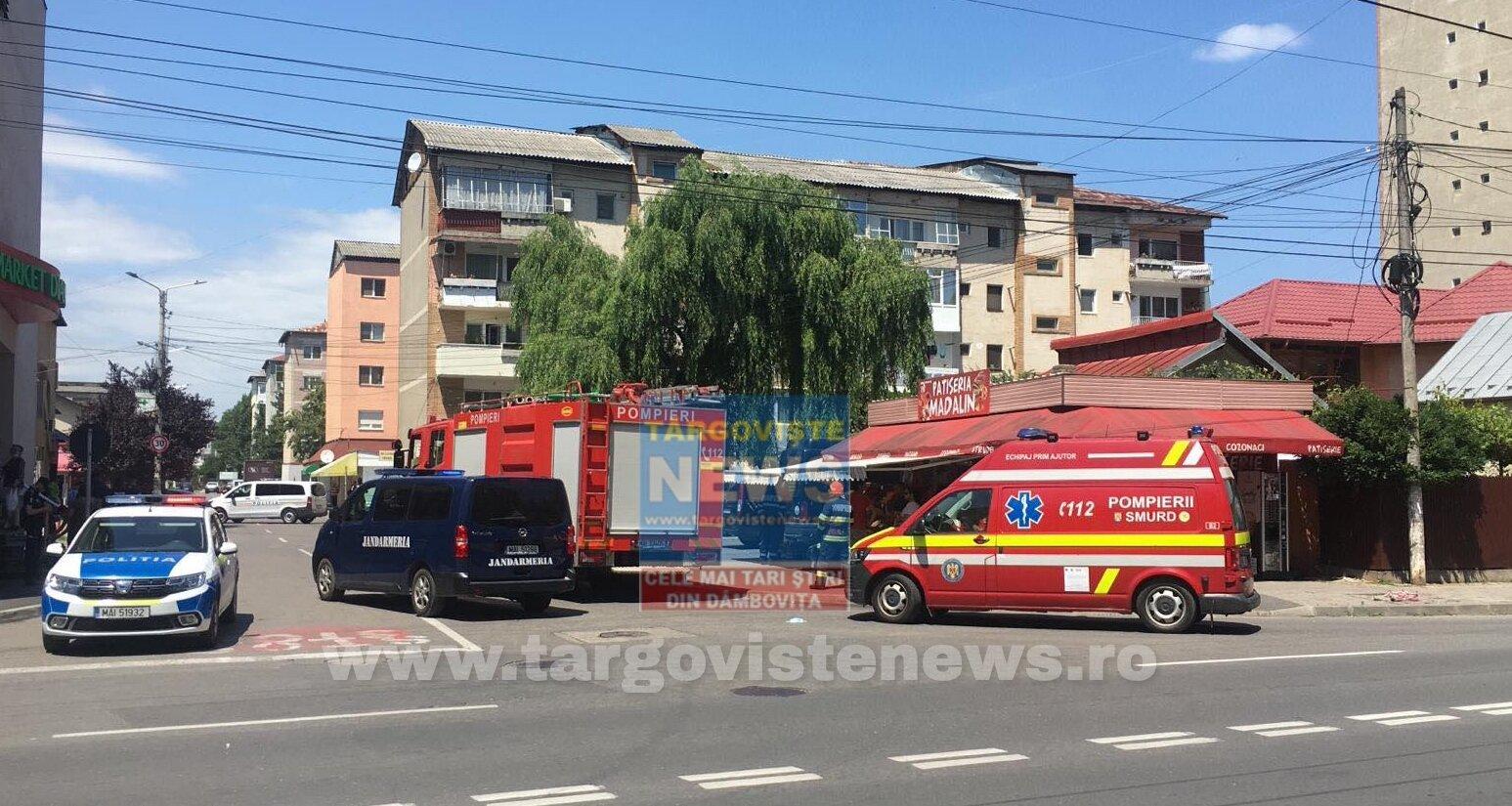 ACUM – Alertă cu bombă în micro 4, în Târgoviște. Pirotehniștii intervin la fața locului