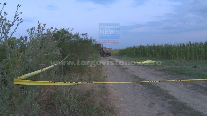 """VIDEO – Tragedie la Corbii Mari. Soţia bărbatului strivit de tractor: """"L-am găsit pe mal, i-am făcut respiraţie gură la gură"""""""