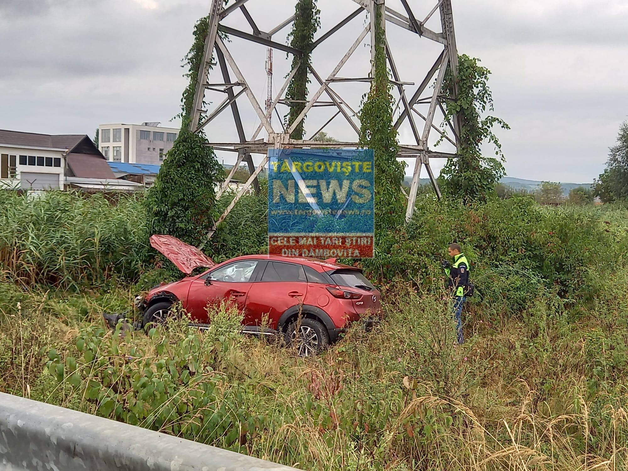 VIDEO – Accident pe Autostrada București – Pitești. Un dâmbovițean, printre răniți