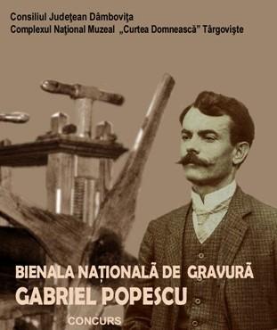 """A VIII-a ediţie a Bienalei Naţionale de Gravură """"Gabriel Popescu"""""""