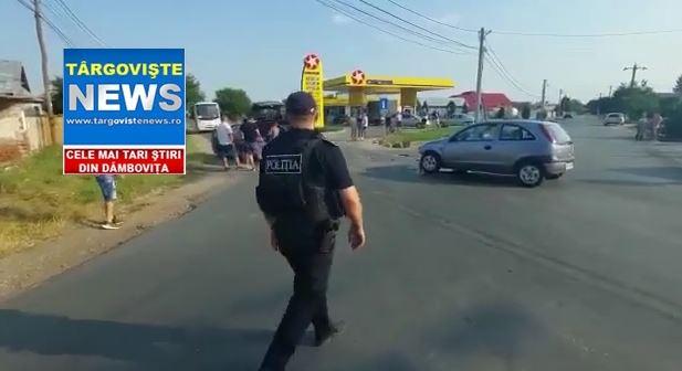 Accident în intersecţia din  Racoviţa spre Bucşani. O şoferiţă a fost rănită