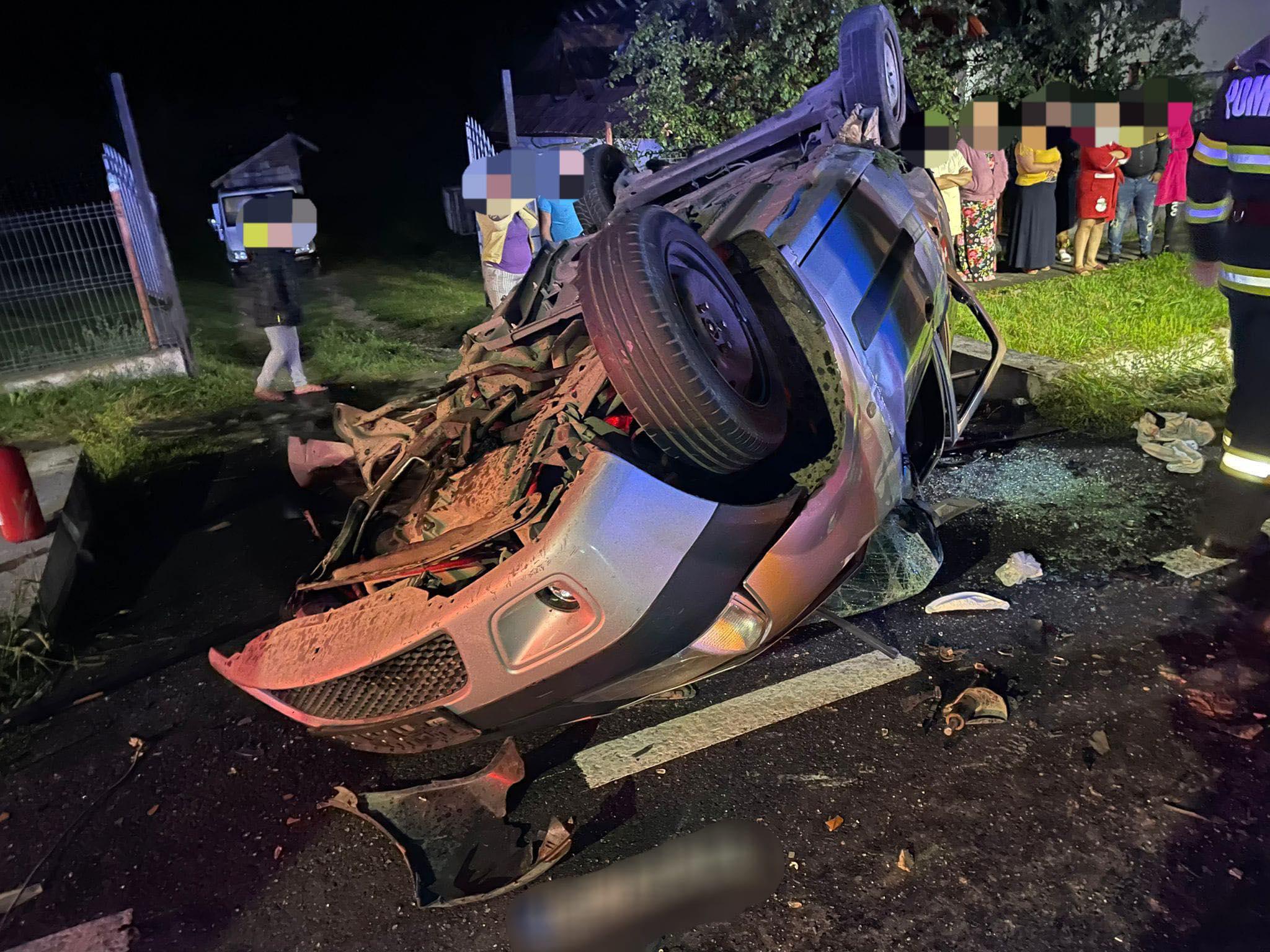Tragedie în Argeș. Şapte persoane au fost rănite, dintre care cinci copii. O fată de 12 ani a decedat