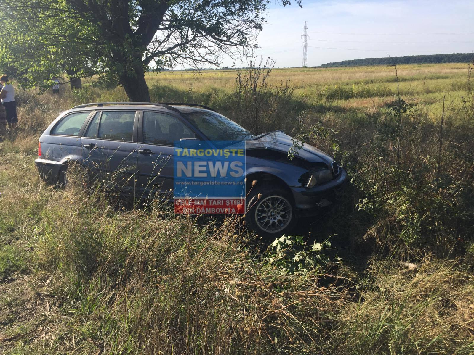 Trei oameni au fost răniți după un accident produs între Racoviță și Lazuri