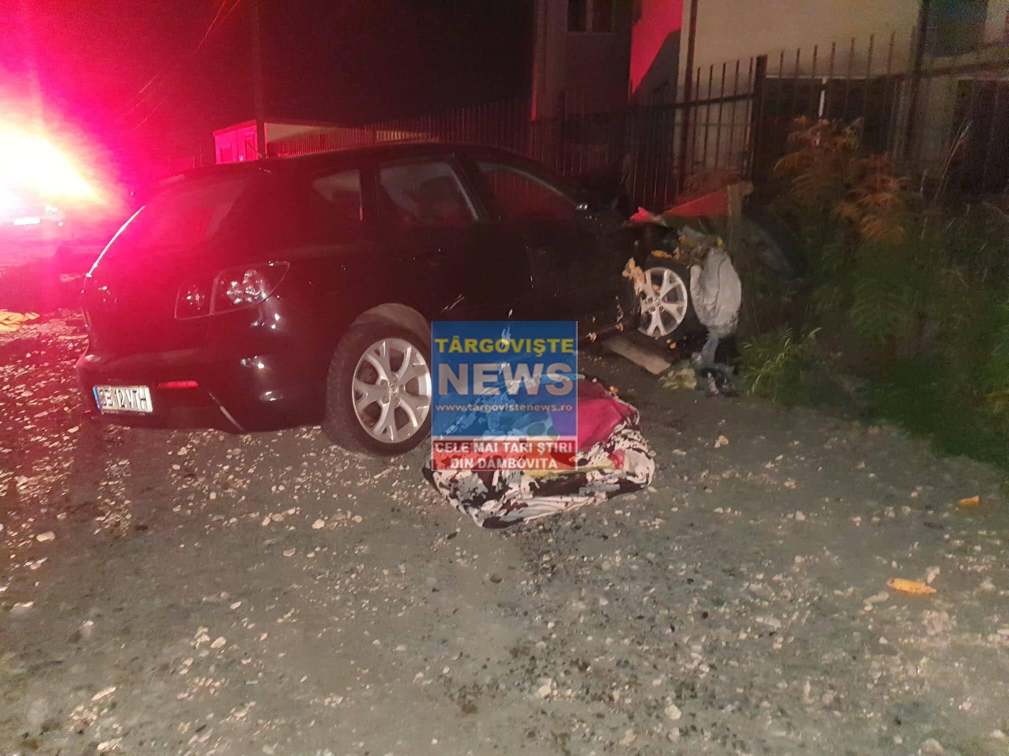 FOTO – VIDEO. O căruță în care se aflau 10 persoane a fost spulberată de o mașină, aseară, la Matraca