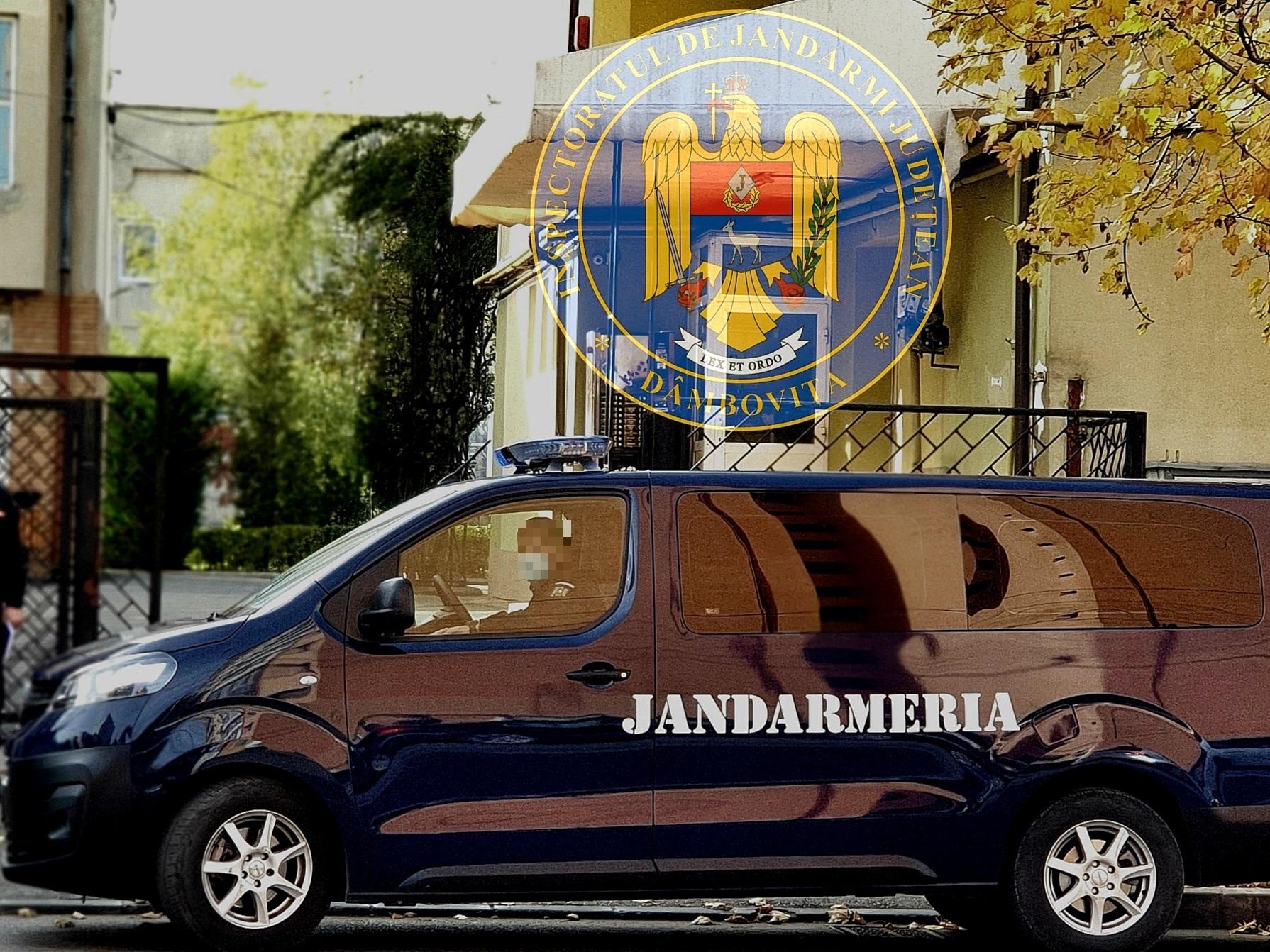 Jandarmii dâmbovițeni, prezenţi la intrarea și la ieşirea elevilor de la ore