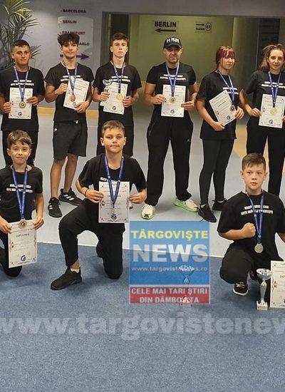 Felicitări! Suntem mândri de voi! 15 medalii au cucerit sportivii din Târgovişte la Campionatul Național de Wushu Kung Fu Qinda