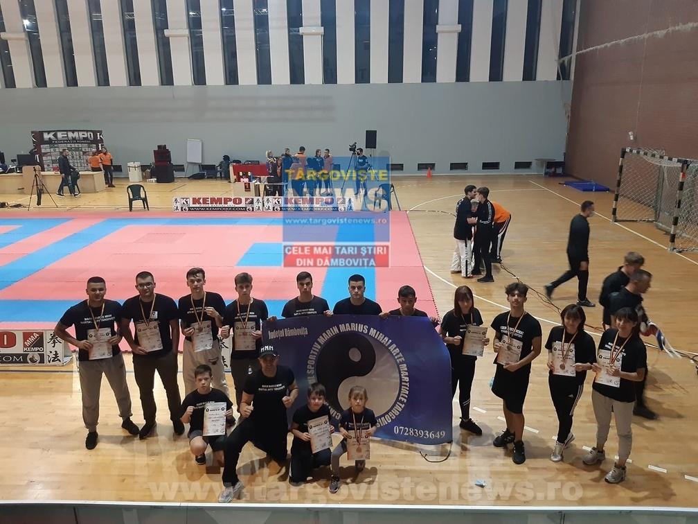 Felicitări! Sportivii dâmboviţeni au reuşit să câştige 9 medalii la Cupa României Kempo K1