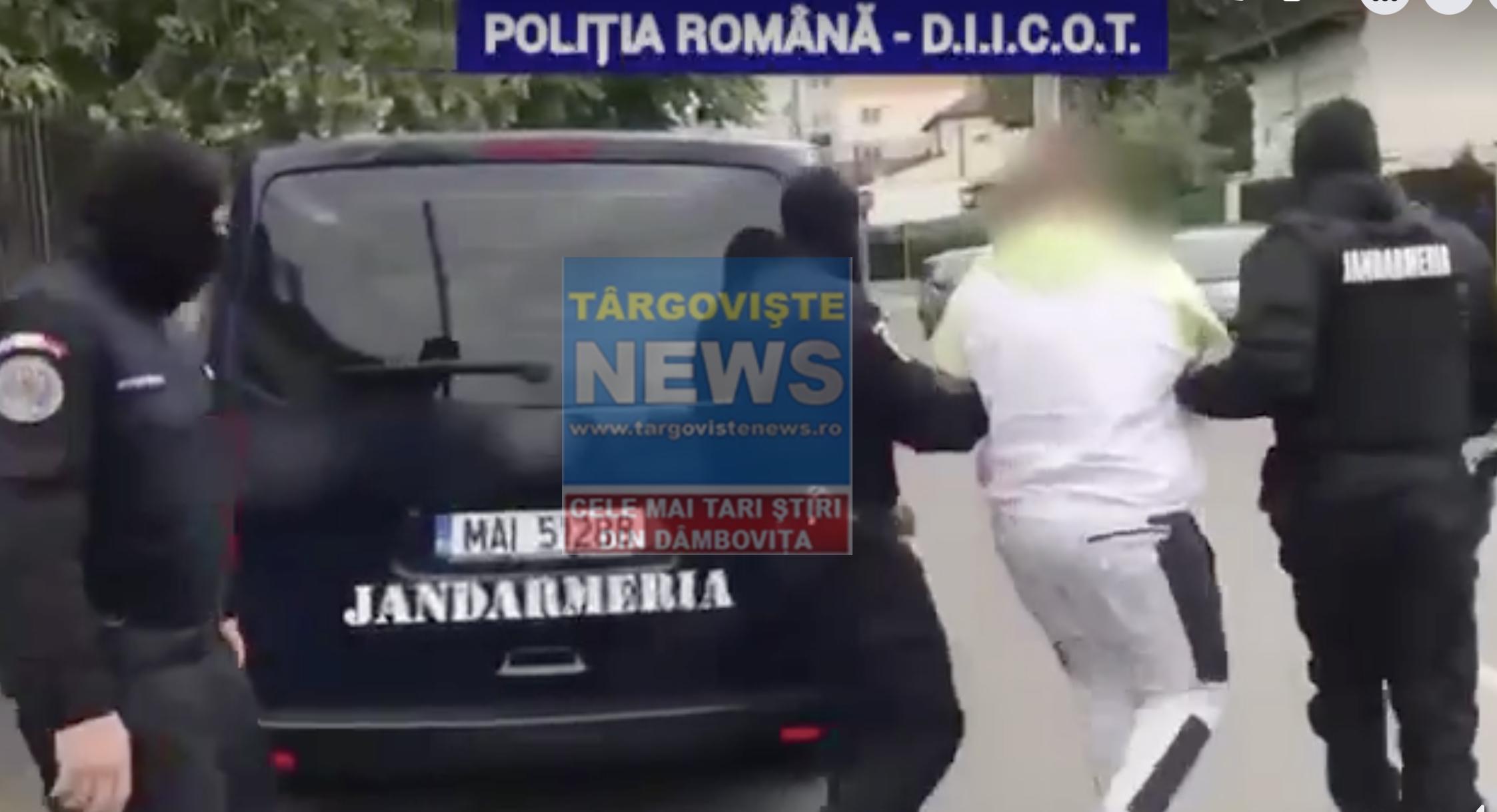 VIDEO – Tânără din Dâmbovița, obligată să se prostitueze în Italia, salvată de polițiști. Un târgoviștean, de 22 de ani, reținut pentru trafic de persoane