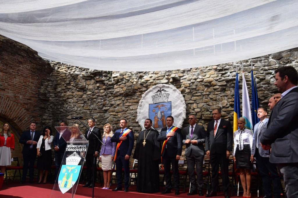Ședința festivă a Consiliului Local Municipal Târgoviște, moment important al ultimei zile din sărbătoarea Cetății