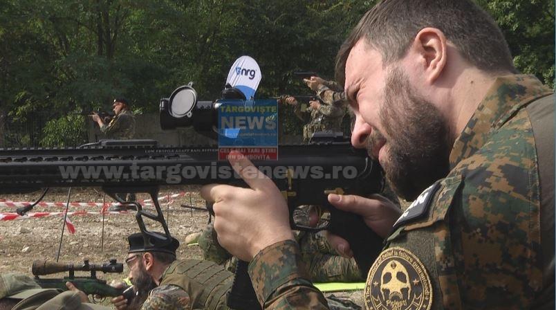 Veteranii care au luptat în teatrele de operații și-au dat întâlnire la Young Veterans Fest, în județul Dâmbovița