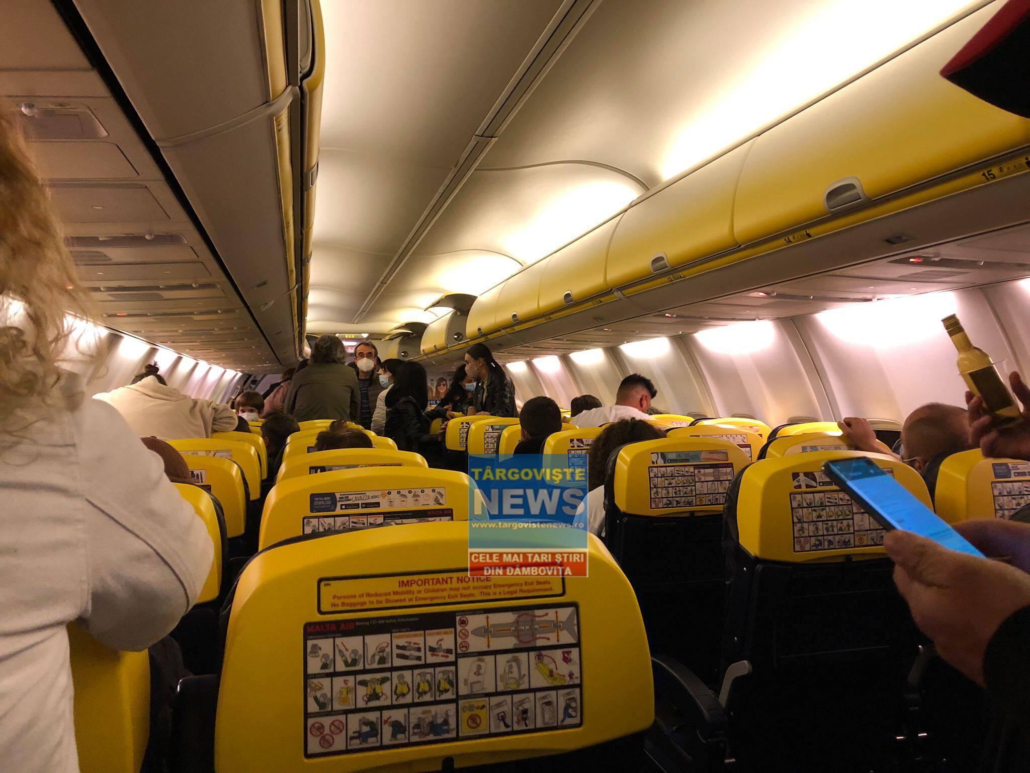 Târgovişteni, în călătorie cu peripeții. Avionul în care se aflau nu a putut ateriza în Corfu din cauza vremii și s-a întors în București