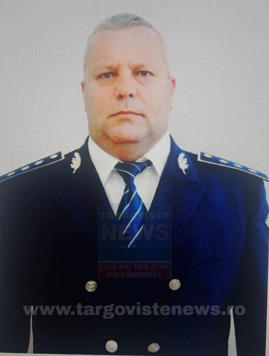 """Comisarul șef de poliție PREDA AURELIAN s-a stins din viaţă la numai 50 de ani. """"Drum lin spre ceruri, Relu!"""""""