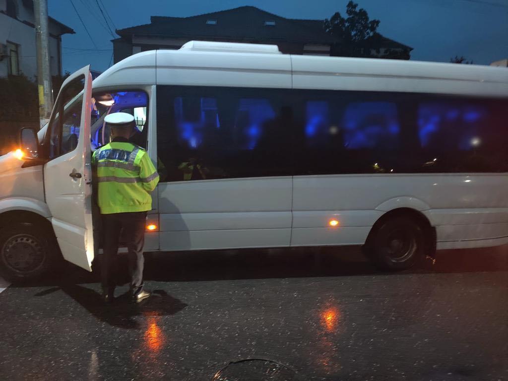 FOTO/VIDEO: Razie pe drumurile din Dâmboviţa. Ce nereguli au găsit poliţiştii