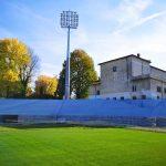 """Stadionul din Târgovişte: """"Se lucrează în continuare la tribuna veche, pe toate fronturile"""""""