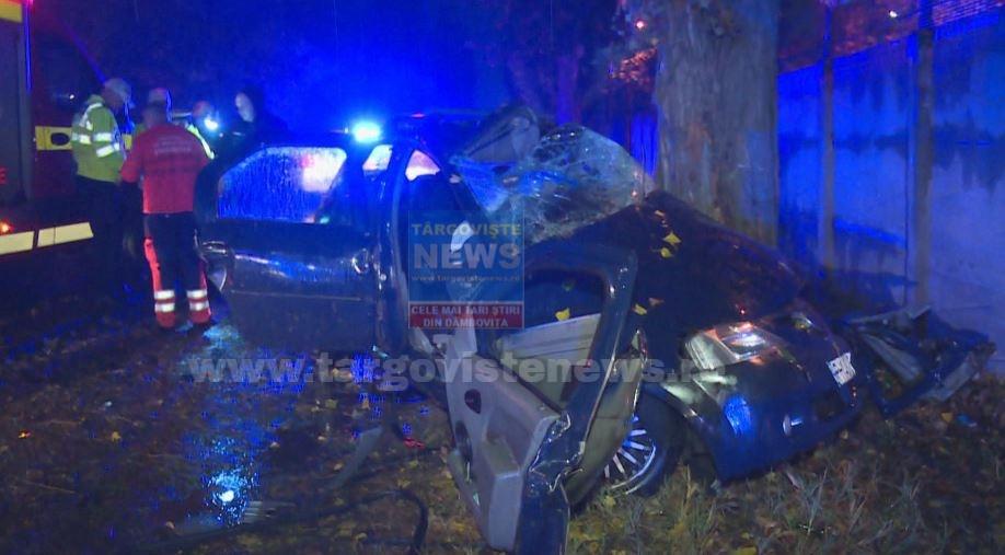 Accident mortal la ieşirea din Blejoi spre Ploieşti. Un şofer, de numai 19 ani şi-a pierdut viaţa